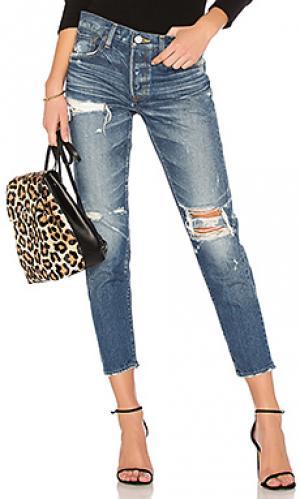Зауженные джинсы ideal Moussy. Цвет: none