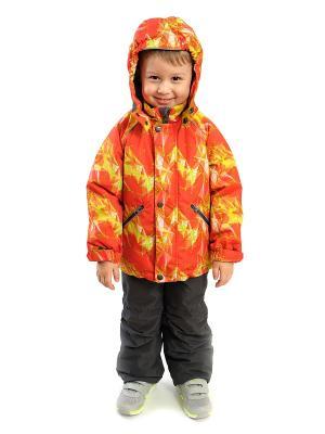 Комплект batik. Цвет: серый, оранжевый