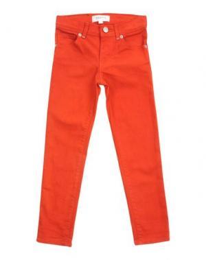 Джинсовые брюки ESP No.1. Цвет: ржаво-коричневый