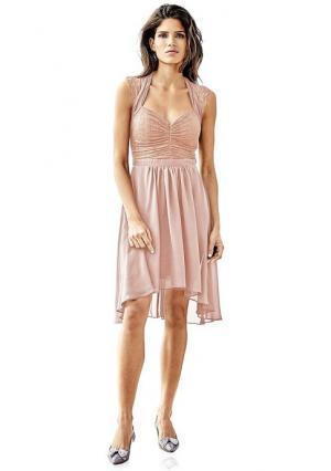 Коктейльное платье Ashley Brooke. Цвет: розовый, темно-синий