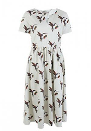 Платье ALTER EGO. Цвет: бежевый