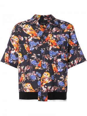 Рубашка с совами 3.1 Phillip Lim. Цвет: многоцветный