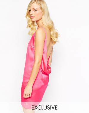 Solace Платье с глубоким декольте спереди и драпированным вырезом на. Цвет: черный 2 954,54 руб.
