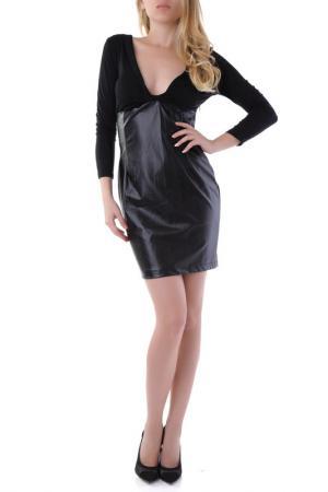 Платье Sexy Woman. Цвет: черный
