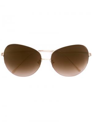 Солнцезащитные очки Coral City Frency & Mercury. Цвет: металлический