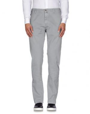 Повседневные брюки BRIGLIA 1949. Цвет: серый