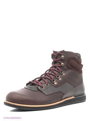 Ботинки TBS. Цвет: бордовый, коричневый