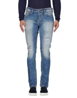 Джинсовые брюки UNIFORM. Цвет: синий