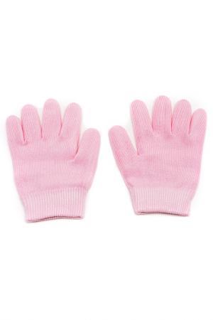 Увлажняющие гелевые перчатки Medolla. Цвет: светло-розовый
