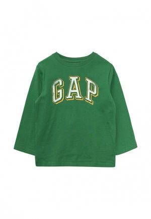 Лонгслив Gap. Цвет: зеленый