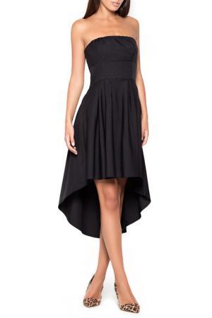 Платье KATRUS. Цвет: черный