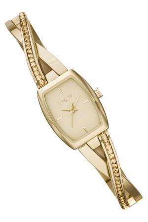 Наручные часы DKNY. Цвет: золотой
