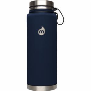 Термобутылка Для Воды MIZU. Цвет: st blue le w/ sst lid & rope leash