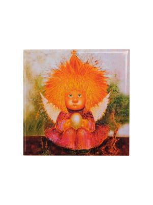 Магнит Ангел заветного счастья Artangels. Цвет: оранжевый, красный, черный