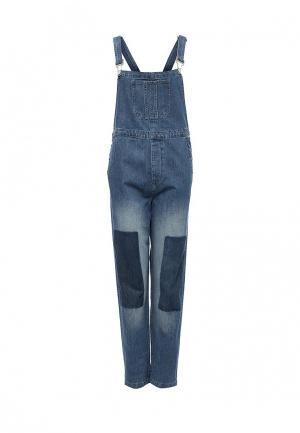 Комбинезон джинсовый French Connection. Цвет: синий
