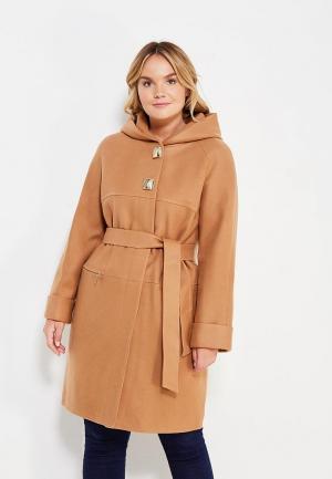 Пальто Grand Madam. Цвет: коричневый