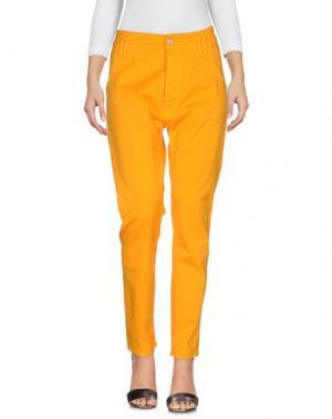 Джинсовые брюки CYCLE. Цвет: охра