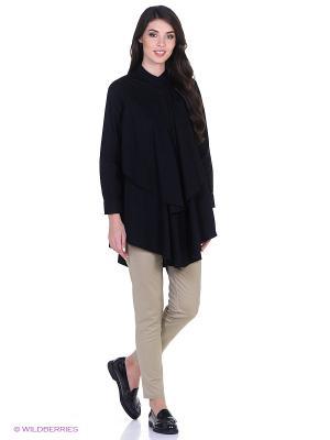 Блузка L'Anu de Meri. Цвет: черный