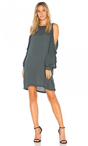Платье kaitlin YFB CLOTHING. Цвет: зеленый