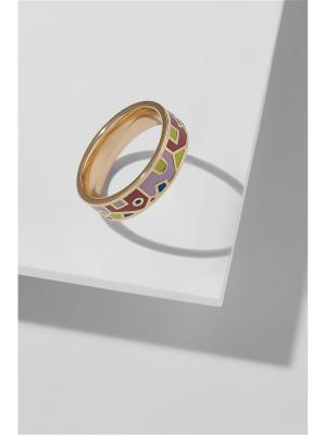 Кольцо Путешествие в Тоскану Nothing but Love. Цвет: розовый, голубой, золотистый