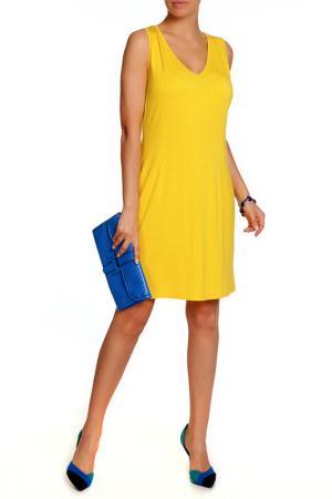 Платье Paola Joy. Цвет: желтый