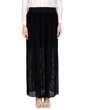 Длинная юбка TENAX. Цвет: черный