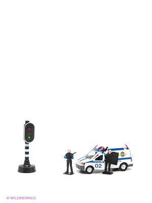 Набор Полиция Технопарк. Цвет: белый, синий