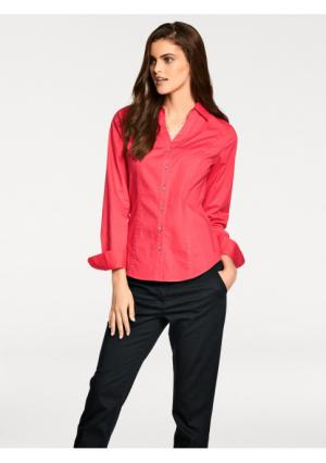 Блузка PATRIZIA DINI by Heine. Цвет: белый, красный