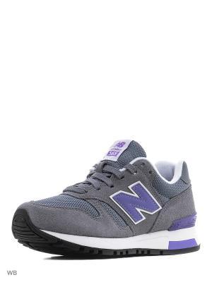 Кроссовки NEW BALANCE 565. Цвет: серый