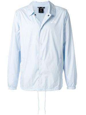SB Shield Coaches jacket Nike. Цвет: синий