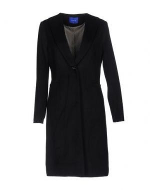 Пальто ANONYME DESIGNERS. Цвет: темно-синий
