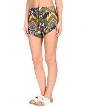 Пляжные брюки и шорты MISS BIKINI. Цвет: зеленый-милитари