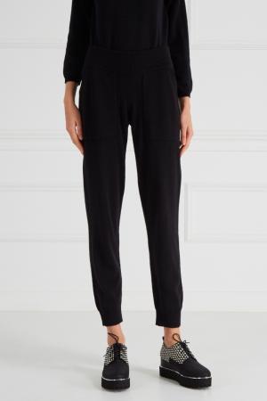 Кашемировые брюки MYONE. Цвет: черный