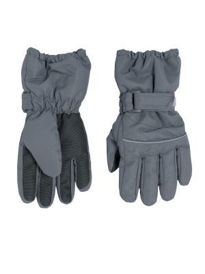Перчатки CHICCO. Цвет: серый