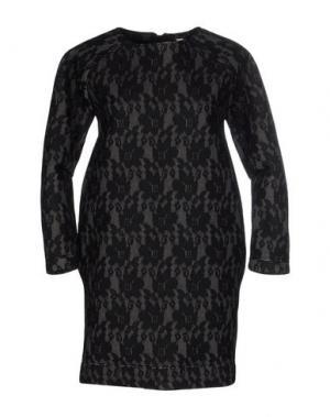 Короткое платье WETPAINT. Цвет: свинцово-серый