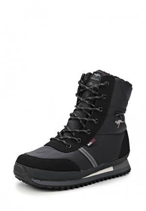 Ботинки KangaROOS. Цвет: черный