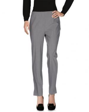 Повседневные брюки METRADAMO. Цвет: серый