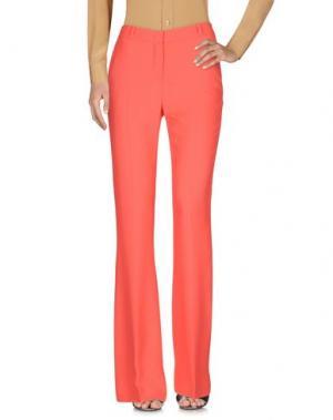 Повседневные брюки CAPUCCI. Цвет: коралловый