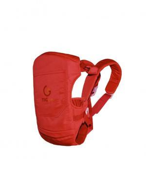 Рюкзак-переноска с козырьком TIGger Blume TIGger.. Цвет: красный