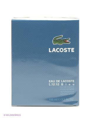 Lacoste Eau De М Товар Туалетная вода 100 мл (l.12.12 bleu ). Цвет: синий