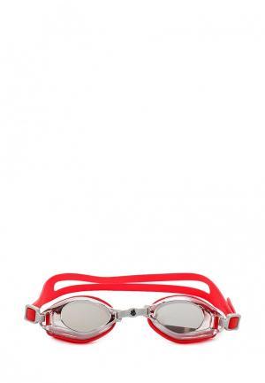 Очки для плавания MadWave. Цвет: красный