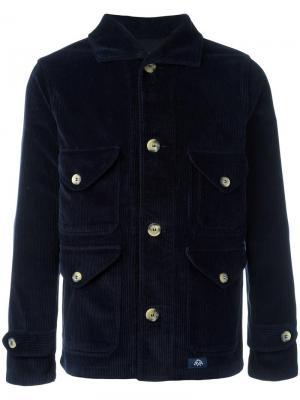 Пиджак на пуовицах Bleu De Paname. Цвет: синий
