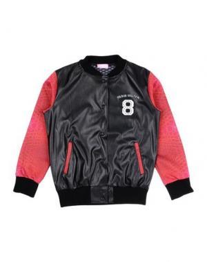 Куртка PARIS HILTON. Цвет: черный