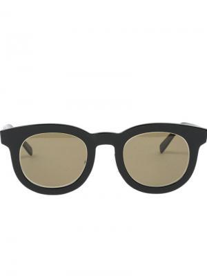 Солнцезащитные очки Tito Hakusan. Цвет: чёрный