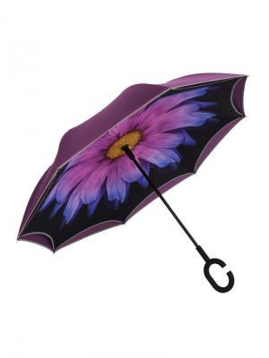 Зонт Наоборот полуавтомат MGitik. Цвет: черный, синий, сливовый
