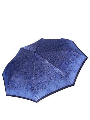 Зонт Fabretti. Цвет: синий, черный