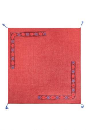 Платок Labbra. Цвет: бордовый