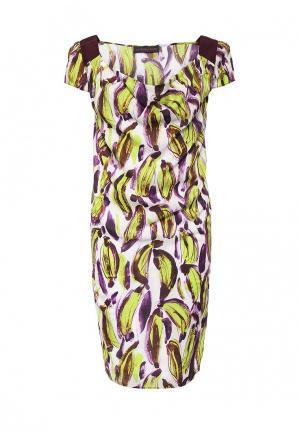 Платье Trussardi Jeans. Цвет: разноцветный