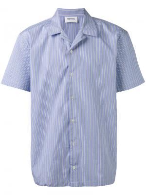 Рубашка Christophe Harmony Paris. Цвет: синий