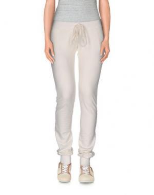 Повседневные брюки DORALICE. Цвет: белый